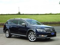 USED 2013 13 VOLKSWAGEN PASSAT 2.0 ALLTRACK TDI BLUEMOTION TECH 4MOTION DSG 5d AUTO 175 BHP GREAT SPEC, LOW MILEAGE, LOVELY PAINT FINISH, IDEAL 4X4 ESTATE