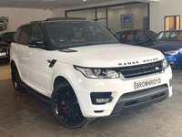 USED 2014 64 LAND ROVER RANGE ROVER SPORT 3.0 SDV6 AUTOBIOGRAPHY DYNAMIC 5d AUTO 288 BHP SLIDING ROOF+RED LTHR+BLK PACK