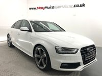 2013 AUDI A4 2.0 TDI BLACK EDITION 4d 148 BHP £10995.00