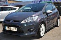 2012 FORD FIESTA 1.6 ZETEC S 3d 118 BHP £5495.00