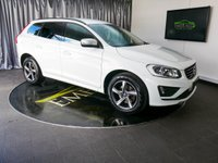 USED 2014 64 VOLVO XC60 2.0 D4 R-DESIGN 5d 178 BHP £0 DEPOSIT FINANCE AVAILABLE, AIR CONDITIONING, AUTOMATIC HEADLIGHTS, BLUETOOTH CONNECTIVITY, CLIMATE CONTROL, CRUISE CONTROL, DAB RADIO, DAYTIME RUNNING LIGHTS, ELECTRONIC PARKING BRAKE, HEATED SEATS, PARKING SENSORS, START/STOP SYSTEM, STEERING WHEEL CONTROLS, TRIP COMPUTER