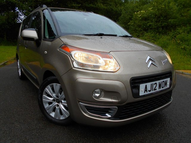 2012 12 CITROEN C3 PICASSO 1.6 PICASSO EXCLUSIVE HDI 5d 91 BHP **DIESEL**LOW MILEAGE**LOW TAX**LOW INSURANCE**