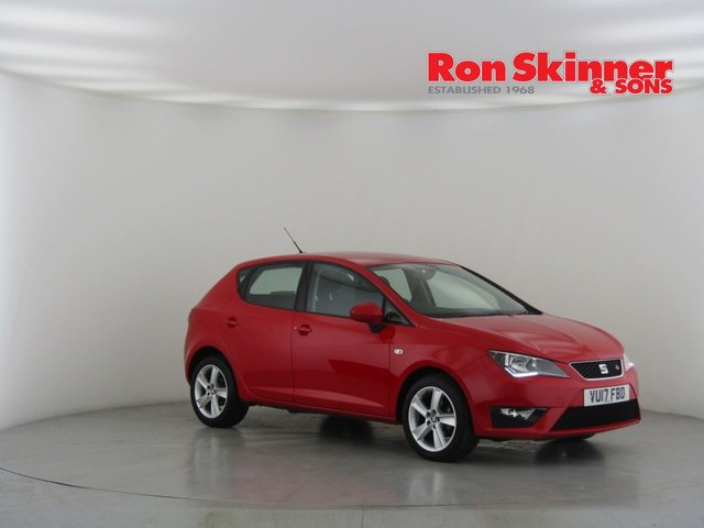 View our 2017 17 SEAT IBIZA 1.2 TSI FR TECHNOLOGY 5d 89 BHP