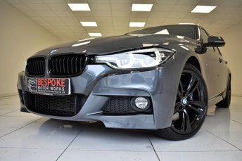 2016 BMW 3 SERIES 320D 2.0 M SPORT AUTOMATIC £18995.00