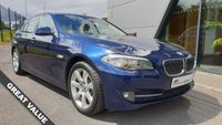 USED 2010 60 BMW 5 SERIES 3.0 530D SE TOURING 5d AUTO 242 BHP FANTASTIC SPECIFICATION+GREAT VALUE FOR MONEY+SOUGHT AFTER COLOUR COMBO