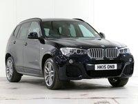 2015 BMW X3 3.0 XDRIVE30D M SPORT 5d AUTO 255 BHP [£2,610 OPTIONS] £21998.00