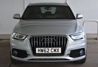 USED 2013 62 AUDI Q3 2.0TDi QUATTRO S-LINE AUTO 175 BHP Finance? No deposit required and decision in minutes.