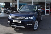 2015 LAND ROVER RANGE ROVER SPORT 3.0 SDV6 HSE 5d AUTO 288 BHP £32990.00