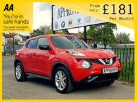 2016 NISSAN JUKE 1.6 TEKNA XTRONIC 5d AUTO 117 BHP £10795.00