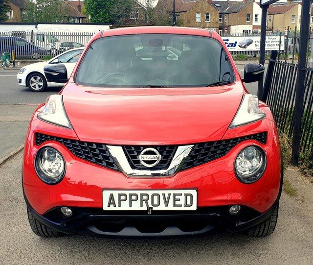 Nissan Juke 2016: 2016 Nissan Juke Tekna Xtronic £10,795
