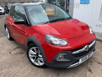 USED 2016 16 VAUXHALL ADAM 1.4 ROCKS 3d 85 BHP
