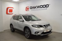 USED 2014 14 NISSAN X-TRAIL 1.6 DCI N-TEC *7 SEATS*  5d 130 BHP LOW MILES + PAN ROOF + SAT NAV + SERVICE HISTORY + 7 SEATS