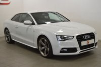USED 2013 63 AUDI A5 2.0 TDI BLACK EDITION 2d AUTO 177 BHP LOW MILES + SERVICE HISTORY + 2 KEYS + AUTOMATIC