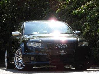 2006 AUDI RS4 SALOON 4.2 RS4 QUATTRO 4d 420 BHP £9975.00