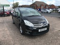 USED 2013 13 CITROEN C4 GRAND PICASSO 1.6 E-HDI EDITION EGS 5d AUTO 110 BHP GREAT SERVICE HISTORY 7 STAMPS-AUTOMATIC-7 SEATER-DIESEL-AIR CON