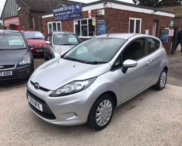 2011 11 FORD FIESTA 1.2 EDGE 3d 81 BHP