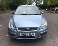 USED 2007 57 FORD FOCUS 1.6 STYLE 5d AUTO 100 BHP