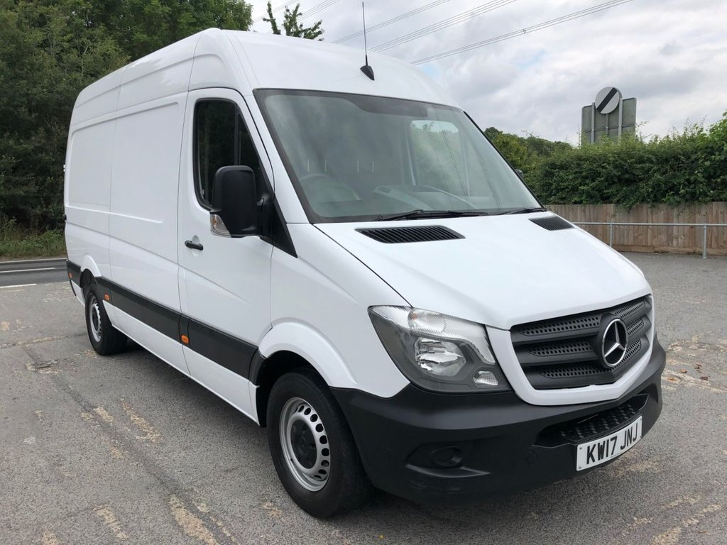 USED 2017 17 MERCEDES-BENZ SPRINTER 2.1CDI 314 MWB HIGH ROOF (EURO 6)(140 BHP) *EURO 6**BEAUTIFUL CONDITION*