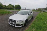 2014 AUDI A4 4.2 RS4 AVANT FSI QUATTRO 5d AUTO 444 BHP £32500.00