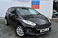 USED 2016 16 FORD FIESTA 1.0 TITANIUM 5d 124 BHP PERFECT FAMILY HATCHBACK