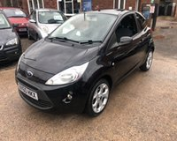 USED 2010 60 FORD KA 1.2 ZETEC 3d 69 BHP
