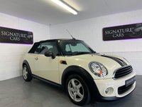 2012 MINI CONVERTIBLE 1.6 ONE 2d 98 BHP £7200.00