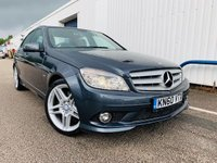 2010 MERCEDES-BENZ C CLASS 3.0 C350 CDI BLUEEFFICIENCY SPORT 4d AUTO 231 BHP £7995.00