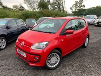 2013 VOLKSWAGEN UP 1.0 HIGH UP 3d 74 BHP £5489.00