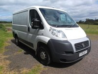 2012 FIAT DUCATO 2.2 30SWB 100 MULTIJET 5d 100 BHP Detachable Tow bar Fitted  £4499.00
