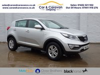USED 2012 12 KIA SPORTAGE 1.7 CRDI 1 5d 114 BHP Full Service History Huge Spec Buy Now, Pay Later Finance!