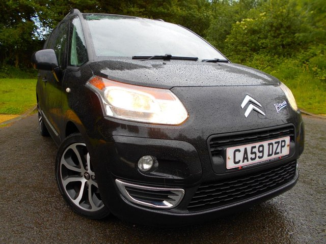 2009 59 CITROEN C3 PICASSO 1.6 PICASSO EXCLUSIVE 5d 120 BHP **LOVELY CONDITION**LOW MILEAGE**GREAT SPEC**