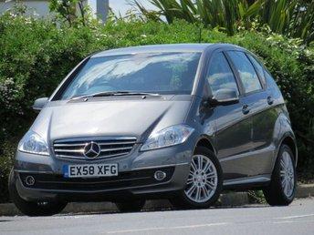 2008 MERCEDES-BENZ A CLASS 2.0 A180 CDI ELEGANCE SE 5d AUTO 108 BHP