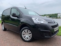USED 2017 67 CITROEN BERLINGO 1.6 625 ENTERPRISE L1 BLUEHDI 1d 74 BHP **3 SEAT CREW CAB***NO VAT**