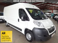 "USED 2015 15 CITROEN RELAY 2.2 35 L3H2 ENTERPRISE HDI  129 BHP VAN ""YOU'RE IN SAFE HANDS"" - AA DEALER PROMISE"