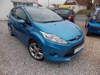 2009 FORD FIESTA 1.6 ZETEC S 3d 118 BHP £SOLD