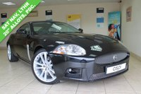 USED 2007 57 JAGUAR XK 4.2 XKR 2d AUTO 416 BHP IVORY LEATHER, SATELLITE NAVIGATION, BLUETOOTH, ELECTRIC FRONT SEATS BOTH WITH MEMORY AND LUMBAR SUPPORT, CRUISE CONTROL, 20 INCH ALLOYS, HEATED FRONT SEATS, PADDLE SHIFT, CRUISE CONTROL, FRONT AND REAR PARKING SENSORS
