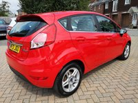 USED 2013 13 FORD FIESTA 1.6 ZETEC 5d 104 BHP FSH+AUTOMATIC+AIR CON