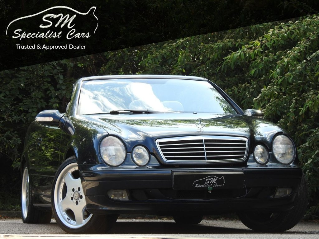 USED 2003 03 MERCEDES-BENZ CLK 2.3 CLK230 KOMPRESSOR AVANTGARDE 2d AUTO 197 BHP LOW MILEAGE A/C DRIVES SUPERB