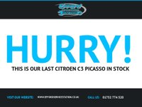 USED 2011 60 CITROEN C3 PICASSO 1.6 PICASSO BLACKCHERRY HDI 5d 90 BHP