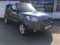 USED 2009 09 KIA SOUL 1.6 2 5d 125 BHP 7 Service History Stamps. Alloy Wheels, USB