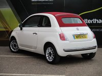 USED 2011 11 FIAT 500 0.9 C LOUNGE 3d 85 BHP CONVERTIBLE