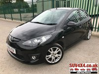 USED 2010 60 MAZDA 2 1.3 TAKUYA 5d 74 BHP ALLOYS A/C MOT 03/20 BLACK MET WITH BLACK CLOTH TRIM. 16 INCH ALLOYS. COLOUR CODED TRIMS. AIR CON. R/CD PLAYER. MFSW. MOT 03/20. AGE/MILEAGE RELATED SALE. P/EX CLEARANCE CENTRE LS23 7FQ - TEL 01937 849492 OPTION 4