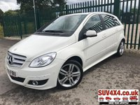 USED 2009 09 MERCEDES-BENZ B CLASS 1.7 B170 SE T245 5d CVT AUTO 114 BHP ALLOYS PAN ROOF CRUISE BLUETOOTH A/C MOT 05/20 PANORAMIC SUNROOF. WHITE MET WITH BLACK CLOTH TRIM. CRUISE CONTROL. 17 INCH ALLOYS. COLOUR CODED TRIMS. PARKING SENSORS. BLUETOOTH PREP. CLIMATE CONTROL WITH AIR CON. R/CD PLAYER. MFSW. MOT 05/20. SERVICE HISTORY. AGE/MILEAGE RELATED SALE. P/X CLEARANCE CENTRE - LS23 7FQ. TEL 01937 849492 OPTION 4