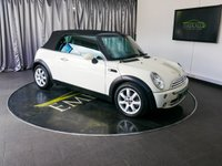 USED 2007 MINI ONE 1.6 MINI ONE CONVERTIBLE 90BHP £0 DEPOSIT FINANCE AVAILABLE, CLIMATE CONTROL, CONVERTIBLE ROOF, ELECTRIC WINDOWS, SONY AUX/CD/RADIO, TRIP COMPUTER