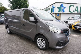 2017 RENAULT TRAFIC 2.9T 1.6 LL29 ENERGY DCI 125 SPORT LONG 5DR ( HIGH SPEC ! ) £12689.00