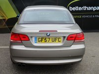 USED 2007 57 BMW 3 SERIES 3.0 325I SE 2d 215 BHP CONVERTIBLE