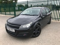 USED 2006 06 VAUXHALL ASTRA NOW SOLD. NOW SOLD