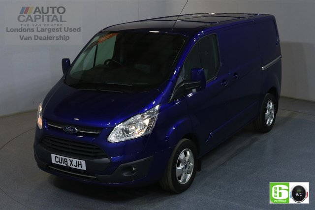2018 18 FORD TRANSIT CUSTOM 2.0 290 LIMITED L1 H1 SWB 129 BHP EURO 6 AUTO AIR CON MANUFACTURER WARRANTY UNTIL 04/03/2021