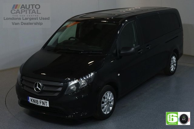 2018 18 MERCEDES-BENZ VITO 2.1 114 BLUETEC TOURER SELECT 136 BHP AUTO EURO 6 AIR CON 9 SEATS MINIBUS MANUFACTURE WARRANTY UNTIL 27/03/2021