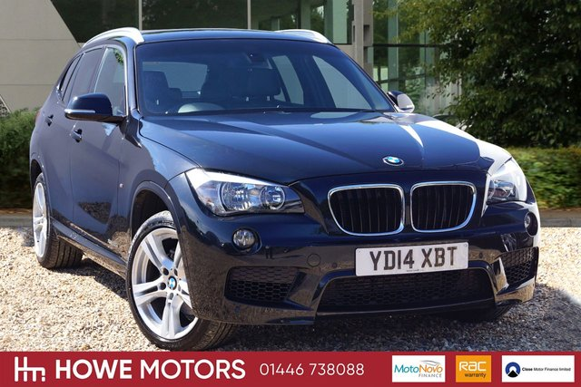 2014 N BMW X1 2.0 XDRIVE20D M SPORT 5d AUTO HEATED LEATHER DAB CRUISE BLUETOOTH